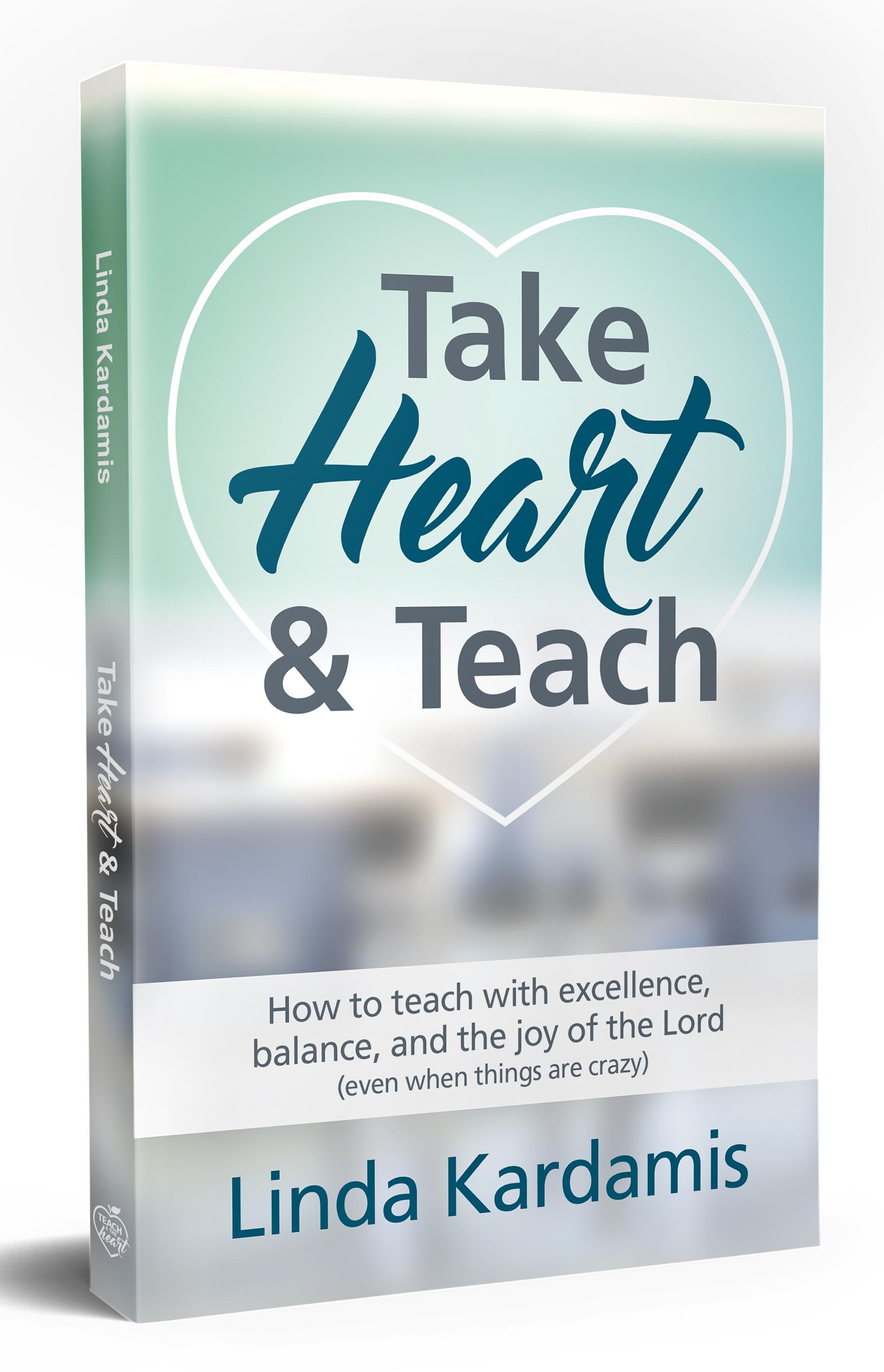 Take Heart & Teach book cover