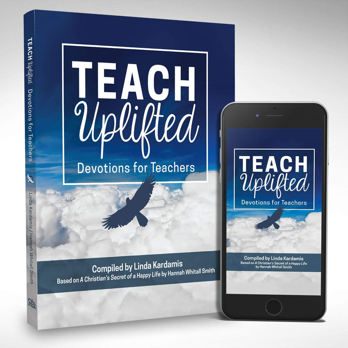 Teach Uplifted book cover and ebook on mobile